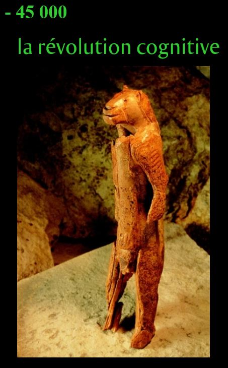 figurine de L'homme-lion de Stadel